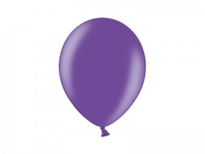 balony PURPUROWE celebration 29 cm